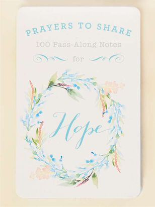 Prayers to Share - 100 Pass-Along Notes for Hope - A'Beautiful Soul