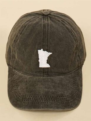 Our Home Canvas Baseball Hat – Minnesota - A'Beautiful Soul