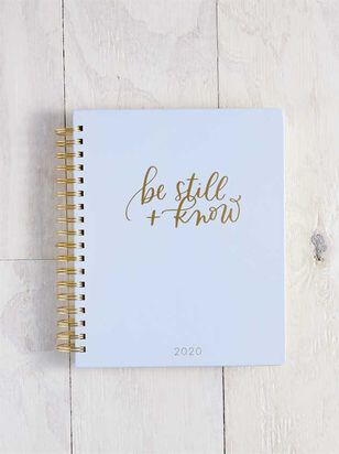 Be Still & Know 2020 Planner - A'Beautiful Soul