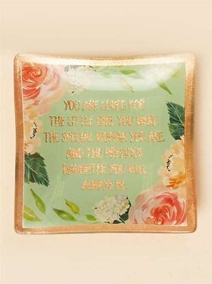 You are Loved Daughter Trinket Dish - A'Beautiful Soul
