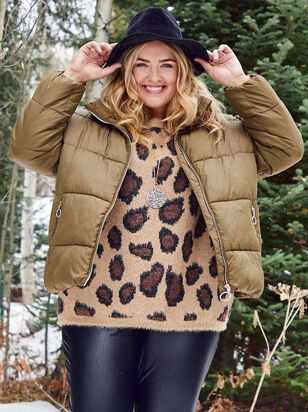 O-Ring Alpine Puffer Coat - A'Beautiful Soul
