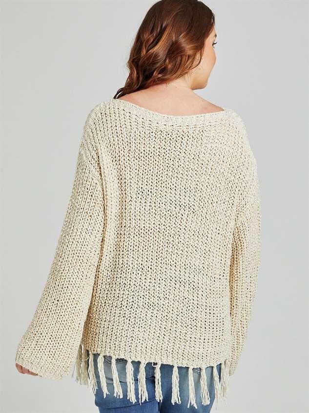Sterchi Sweater Detail 3 - A'Beautiful Soul