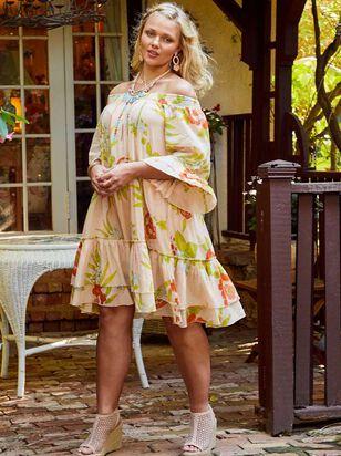 Tropical Retreat Dress - A'Beautiful Soul