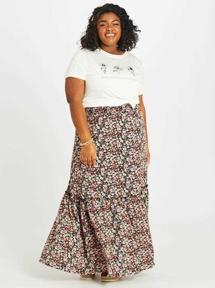 Blossoming Maxi Skirt - A'Beautiful Soul