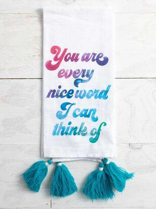 Every Kind Word Hand Towel - A'Beautiful Soul