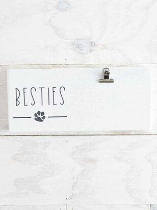 Besties Pet Clip Frame - A'Beautiful Soul