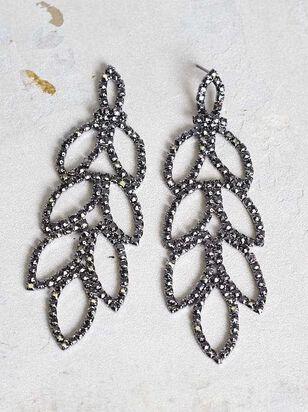 Leaf Drop Earrings - A'Beautiful Soul