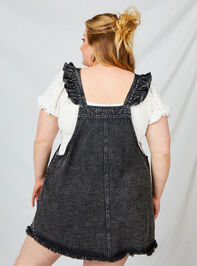 What Do You Jean Overall Dress Detail 3 - A'Beautiful Soul