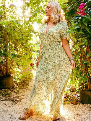 Garden City Maxi Dress - A'Beautiful Soul