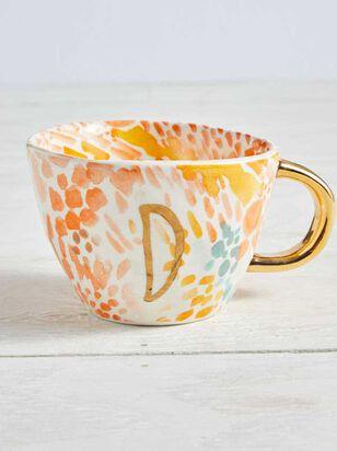 Hello Beautiful Monogram Mug - D - A'Beautiful Soul
