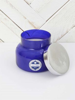 Blue Jar Candle - Volcano Scent - A'Beautiful Soul