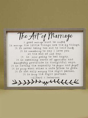 The Art Of Marriage Wall Art - A'Beautiful Soul