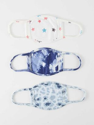 Star Face Mask Set - 3 Pack - A'Beautiful Soul