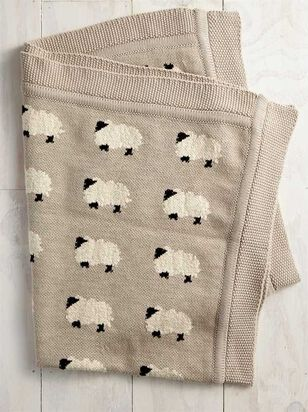 Tullabee Sweet Sheep Blanket - A'Beautiful Soul