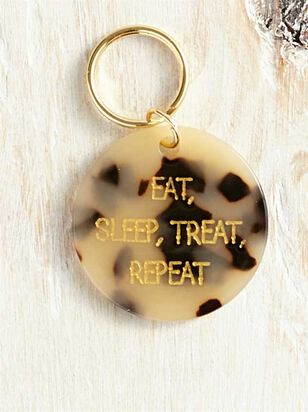 Bear and Ollie's Eat, Sleep Dog Tag - A'Beautiful Soul