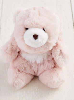 Snuffles the Bear Keychain - Blush - A'Beautiful Soul
